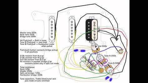 Hss Strat Vol Master Tone Split Wiring Doubts