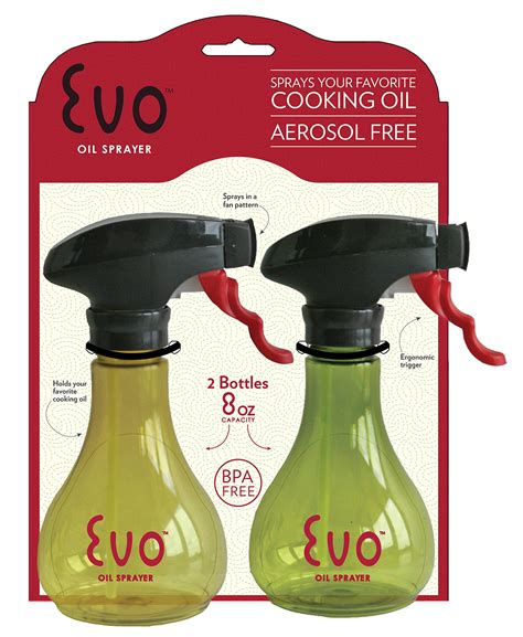 Evo Kitchen And Grill Olive Oil And Cooking Oil Trigger