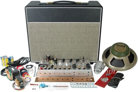 Classic British 18w Tube Guitar Amp Kit