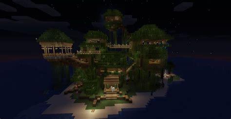 minecraft treehouse   minecraft jungle house jungle house tree house