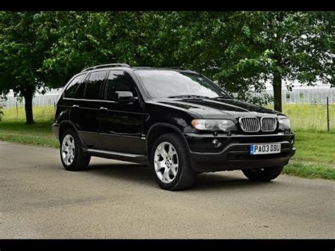 2003 Bmw X5 Sport 30 Video Review Youtube