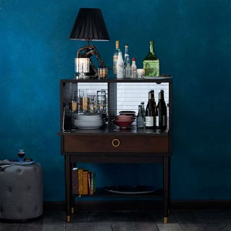 Liquor Cabinet Design Ideas by 10 Compact Bar Options For The Urban Entertainer