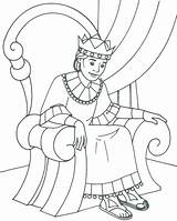 Wisdom Coloring Pages King Bible Getcolorings Printable Well sketch template