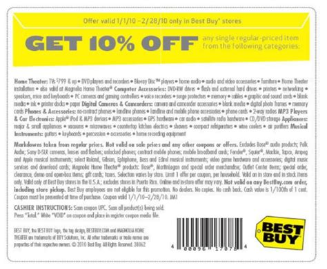discount coupon for best buy