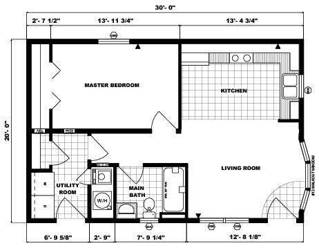 pine grove homes floorplan detail