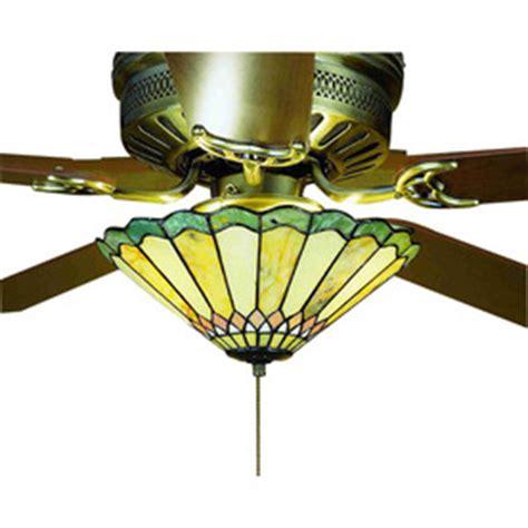 meyda tiffany ceiling fan light kit shop meyda tiffany 3 light ceiling fan light kit with