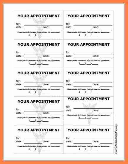 appointment slip templates salary slip