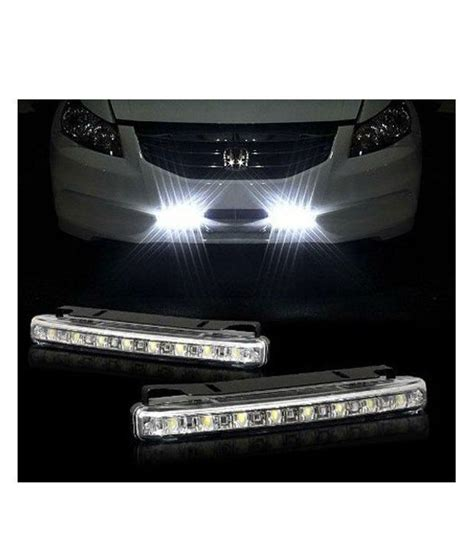 autovogue car daylight day time daytime running light drl  led super white bright light