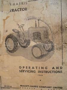 1953 Massey Harris Pony Wiring Dia