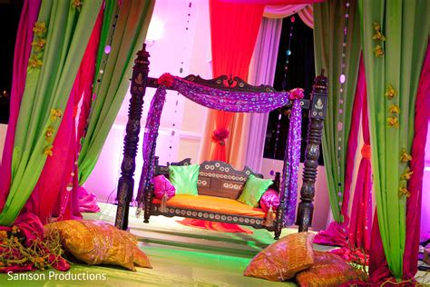 mehndi night photo  maharani weddings