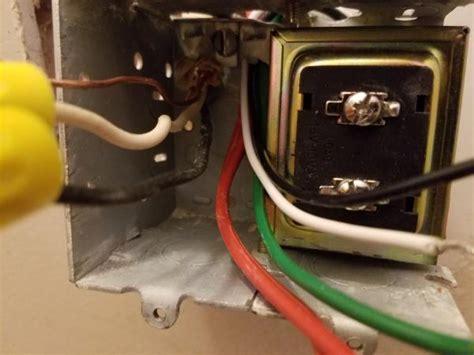Problems Installing Doorbell Transformer Doityourself