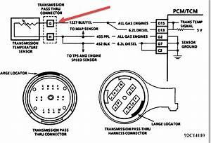 4l80e Transmission Temperature Sensor Issue  Transmission