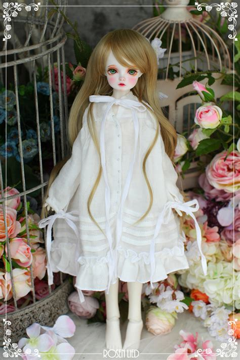 basic milkdollrosen lied doll dolk station  bjd