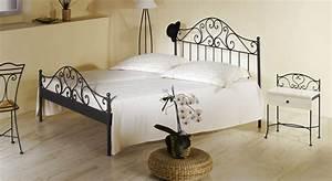 Bett 140x200 Metall : spanisches metallbett z b 140x200 cm in braun loria ~ Markanthonyermac.com Haus und Dekorationen