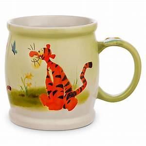 Mug Infuseur Thé : disney coffee cup mug tigger watercolor parks ~ Teatrodelosmanantiales.com Idées de Décoration