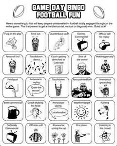 Super Bowl Bingo Cards Printable Free