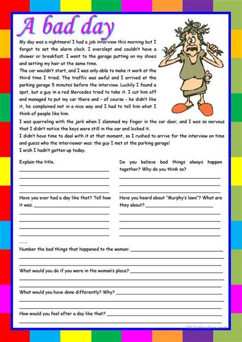 570 free esl reading comprehension worksheets