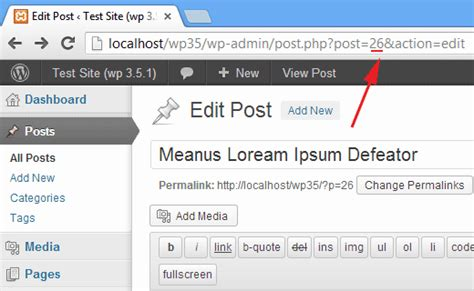 How To Find Post, Category, Tag, Comments, Or User Id In