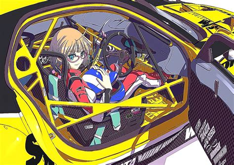 anime girl car wallpapers hd background wallpaper gallery