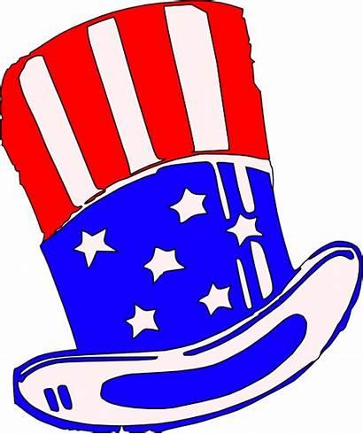 Uncle Clip Hat Clipart Yankee Sam Sams