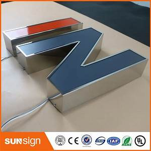 online buy wholesale 3d letter signage from china 3d With 3d sign letters wholesale