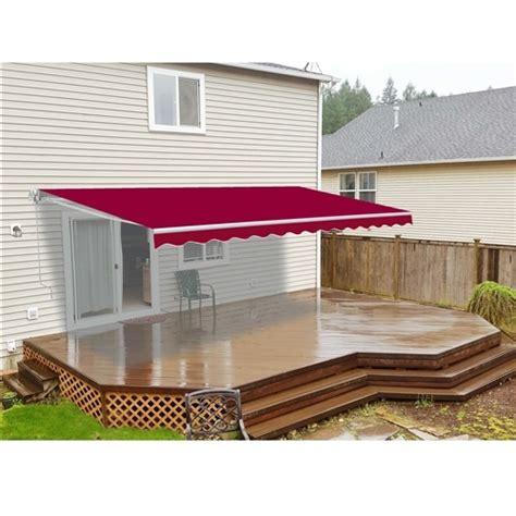 aleko retractable patio awning