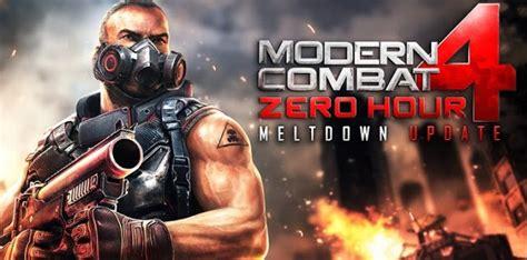 moderne combat 4 zero hour modern combat 4 zero hour 1 1 6 apk sd data files free apkradar