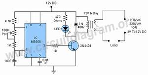 On Off Relay Circuit  Automatic