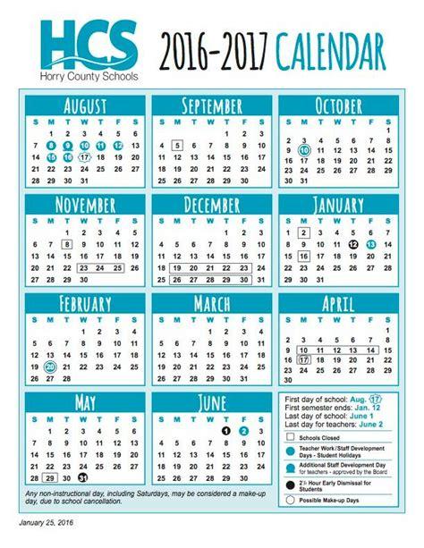 school year calendar horry county schools facebook