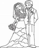 Groom Bride Coloring Theme Sheet Modern Pages Romantic Charming Ages sketch template