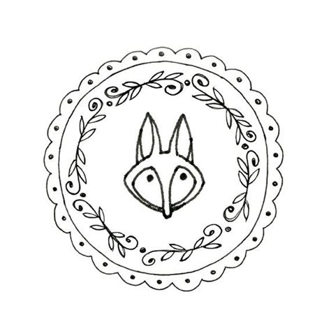 See more ideas about embroidery, embroidery patterns, pattern. Items similar to Fox Hand Embroidery Pattern Printable ...