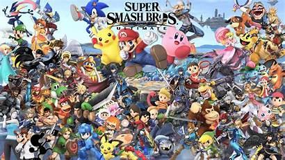 Smash Ultimate Wallpapers Bros Super Smashbros Pc