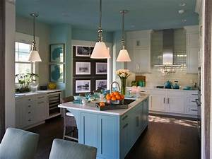 photo page hgtv With kitchen colors with white cabinets with large metal flip flop wall art