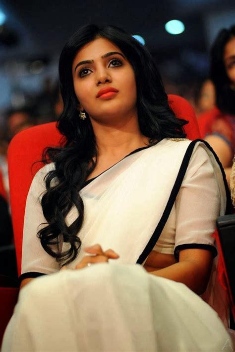 hot heroines  white saree stills latest  updates