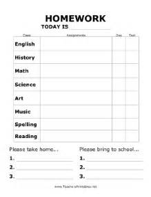 Free Attendance Sheet Template For Teachers Homework Reminder Poster