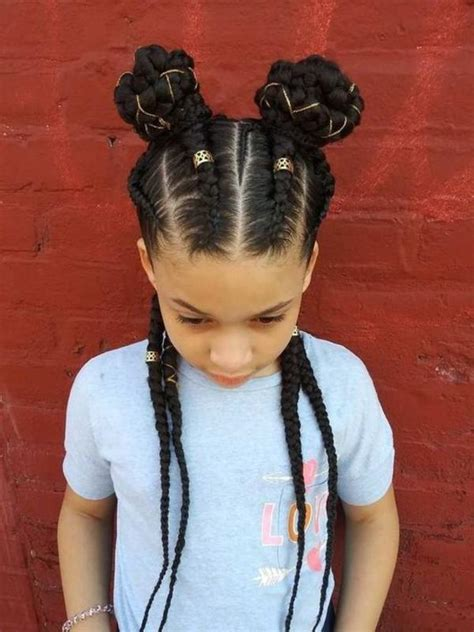 cutest african american kids hairstyles haircuts