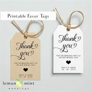 printable favor tags printable personal favor tag wedding With printable wedding favor tags