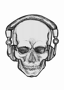 People With Headphones Drawing - ClipArt Best | art ...