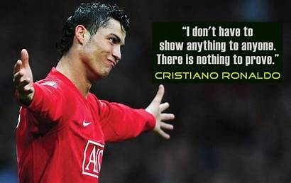 Ronaldo Cristiano Quotes Football Famous Wallpapers Cr7
