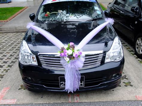 aura touch and bridal wedding car decoration for rental