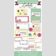 Back To School Labels By Falala Designs  Worldlabel Blog