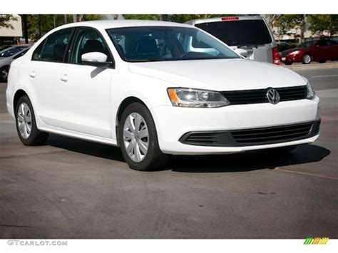 2011 Candy White Volkswagen Jetta Se Sedan 105124995