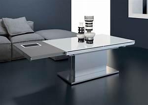 Table De Salon Extensible : table basse relevable extensible paris erika le monde du ~ Teatrodelosmanantiales.com Idées de Décoration