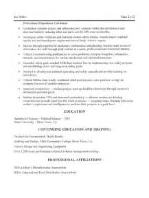 Resume Templates For Project Managers 10 General Maintenance Worker Resume Sle Writing Resume Sle Writing Resume Sle