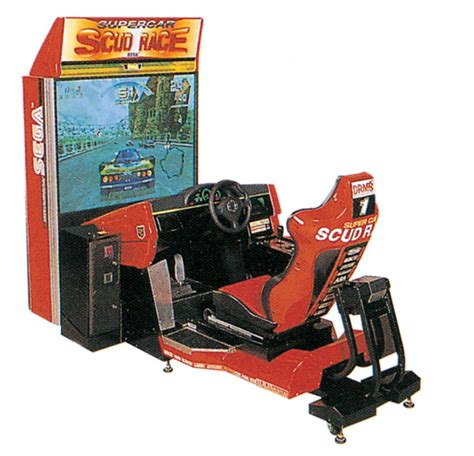 cabinati sala giochi sega scud race coin op 1996 retrogaming planet