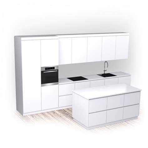 kitchen set modern  elen objeto bim gratuito