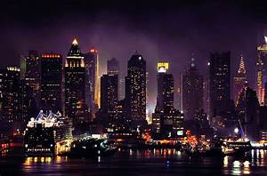 city night lights on Tumblr