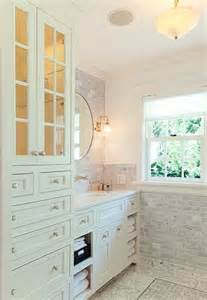 bathroom vanity with tower cabinet for the home pinterest