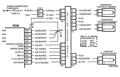 94 Lt1 Pcm Wiring Diagram by 94 Cadillac Pcm Codes