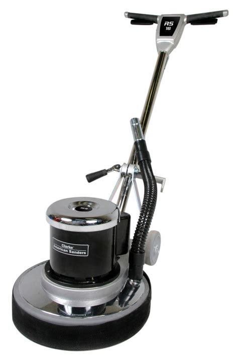 clarke floor buffer sander clarke rs16dc 16 quot rotary buffer sander with dust